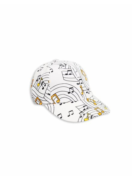 OUTLET // cap music - off white