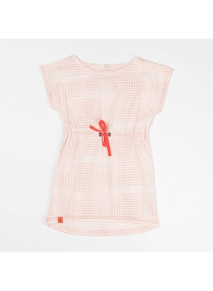 OUTLET // dress Sigrid - angel wing dotted cubes