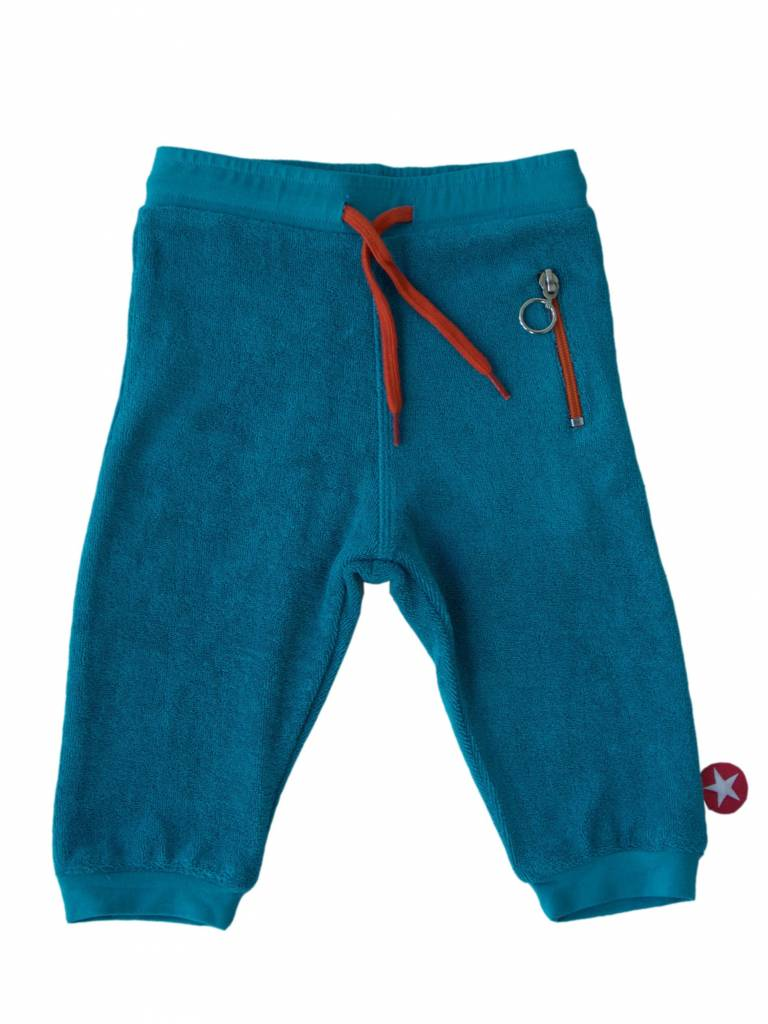 trousers terry - blue