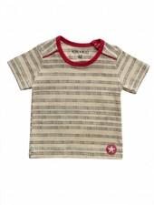 OUTLET // t-shirt stripes/dots - yellow/black