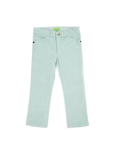 OUTLET // broek Ethan corduroy - ice blue
