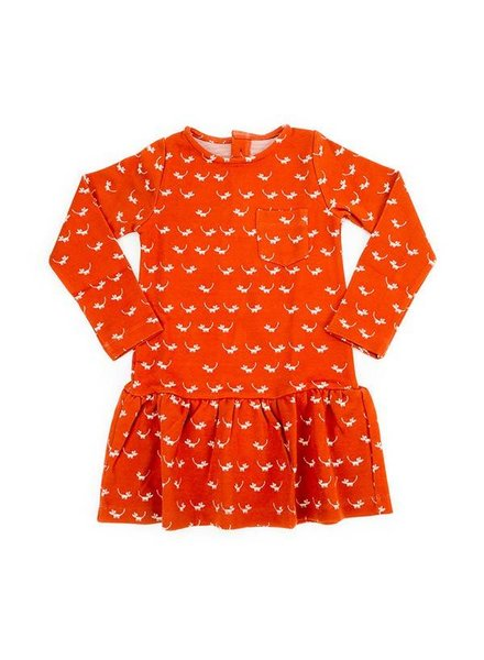 OUTLET // dress Fiona jacquard - mice