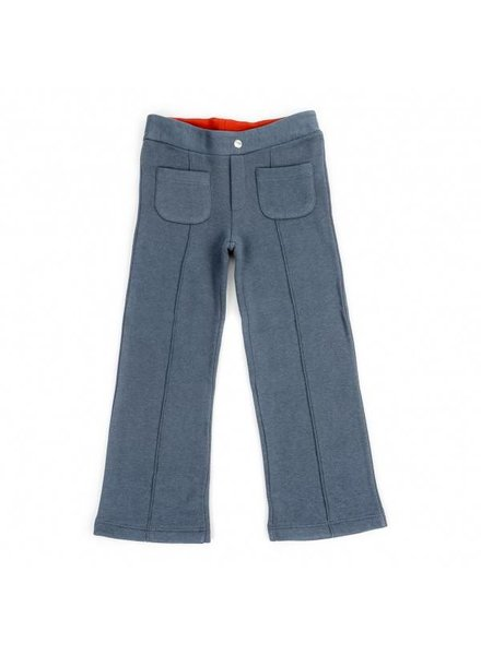 OUTLET // broek Dré sweat - petrol