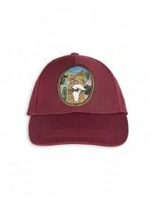 cap fox - burgundy