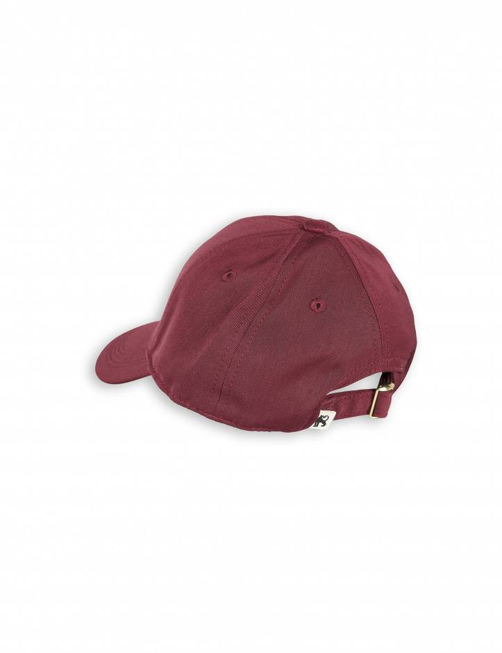 cap fox - burgundy