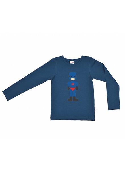 long sleeve hero - blue