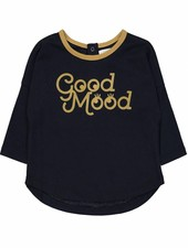 t-shirt good mood lovers - navy
