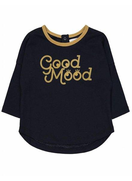 t-shirt good mood lovers - navy