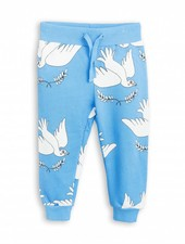 sweatpants peace - blue