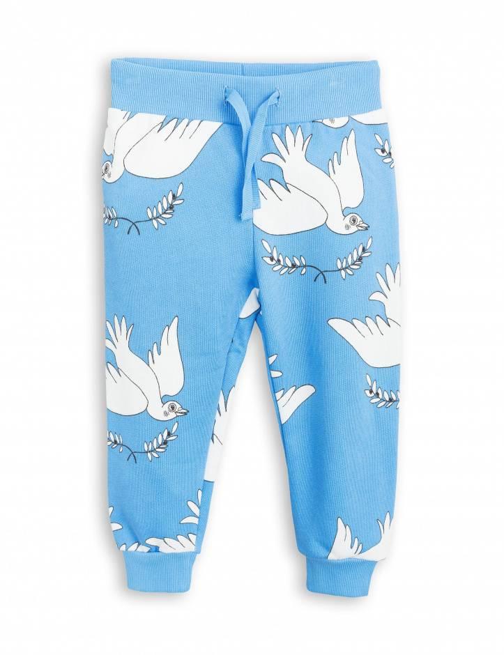 sweatpants peace - blue