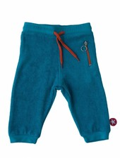 OUTLET // broek terry - blue