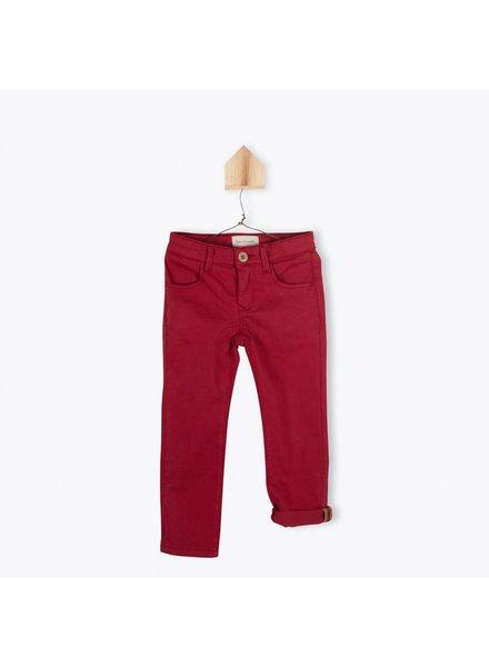 pantalon serge - rubis