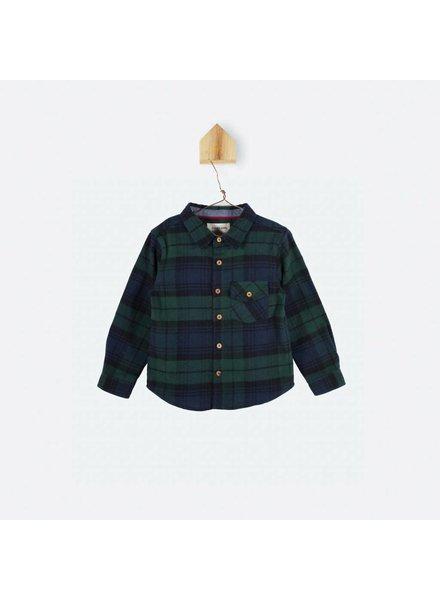 OUTLET // chemise - carreaux ecossais - vert