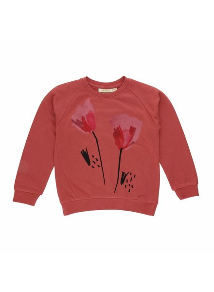Soft Gallery - sweater - Babs faded rose, tulips