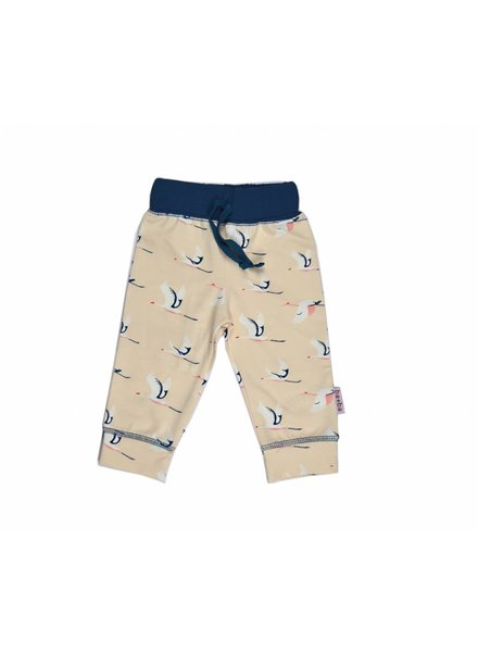 OUTLET // Baba - baby pants - pink birds
