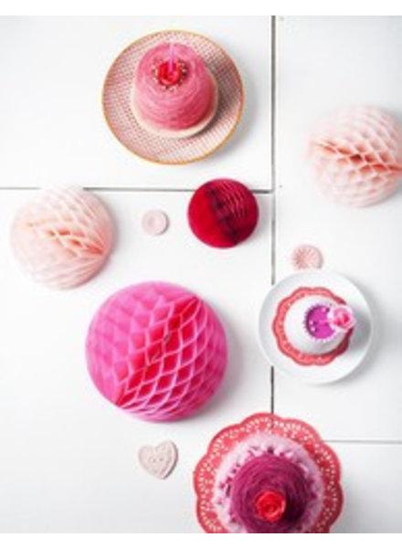 OUTLET // Honeycomb set van 3 - sweet