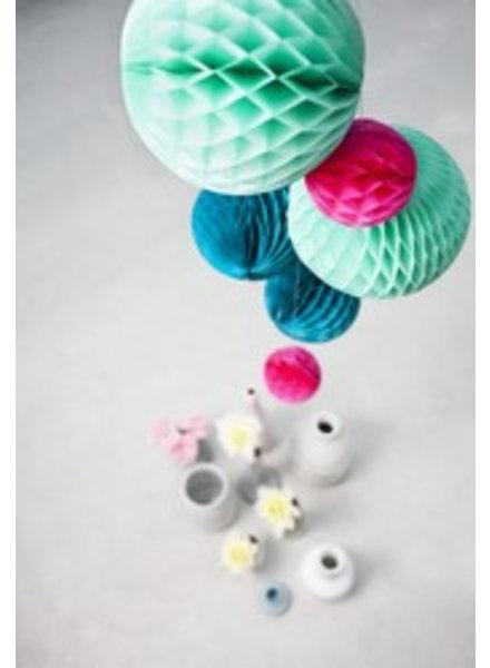 OUTLET // Honeycomb set van 3 - ocean