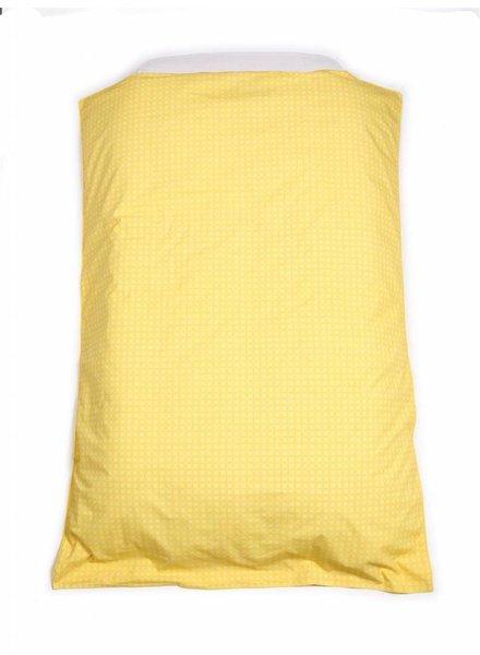 OUTLET // dekbedovertrek yellow (100 x 140cm)