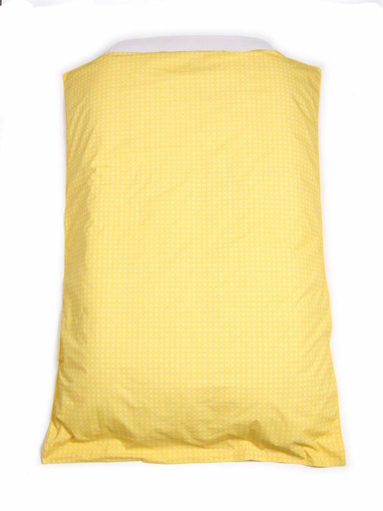 dekbedovertrek yellow (100 x 140cm)
