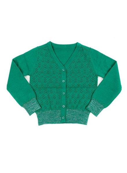 OUTLET // cardigan Nette - emerald
