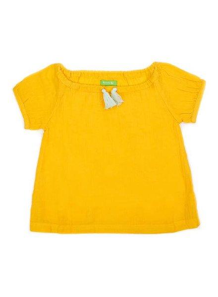 OUTLET // swaddle blouse Hazel - lemon chrome