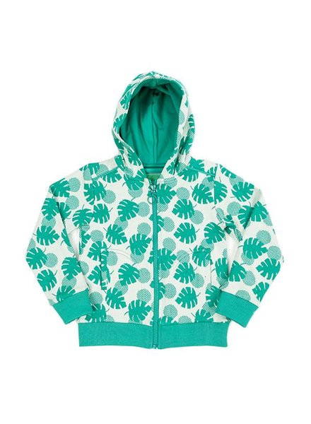 OUTLET // hoody Tristan - palm leaves