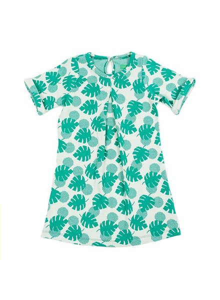 OUTLET // dress Lois - palm leaves