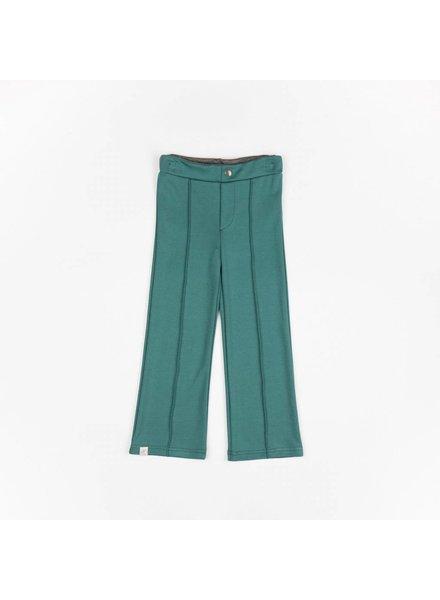 box pants Hecco - silver pine melange
