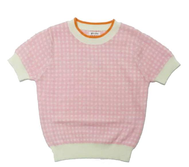 pull Hermoine - vichy parisian pink