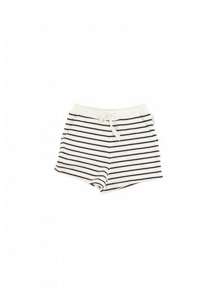 short small stripes - off white/navy