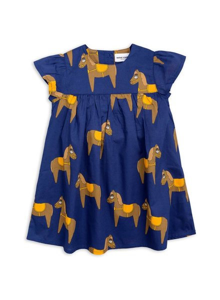 OUTLET // dress frill horse - navy
