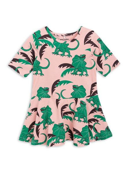dress draco - green