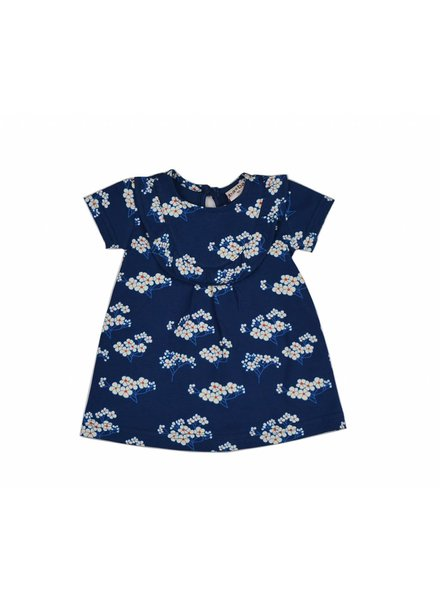Baba baby dress - Julia blue