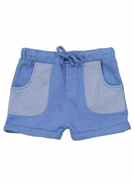 OUTLET // short splash - blue/chine