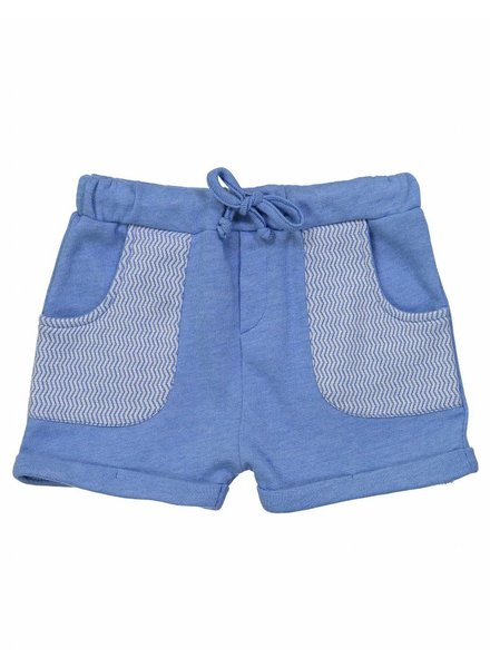 short splash - blue/chine