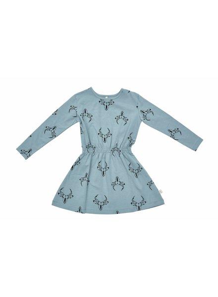 dress - blue gasella