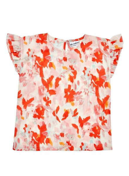 OUTLET // blouse - coral