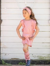 Albababy - knee socks Annie - rose tan