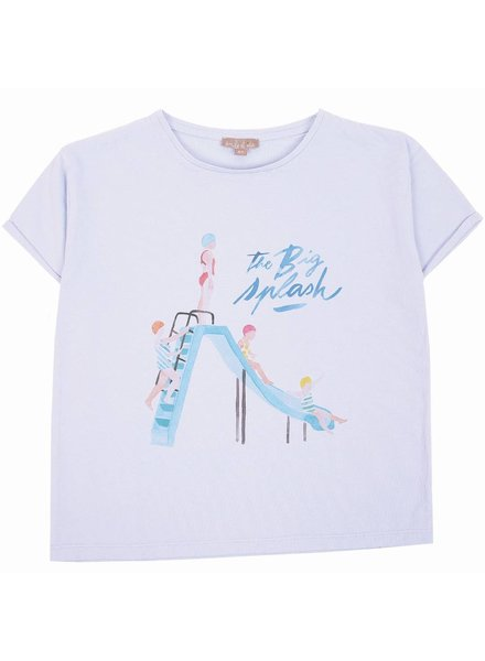 t-shirt - splash ciel
