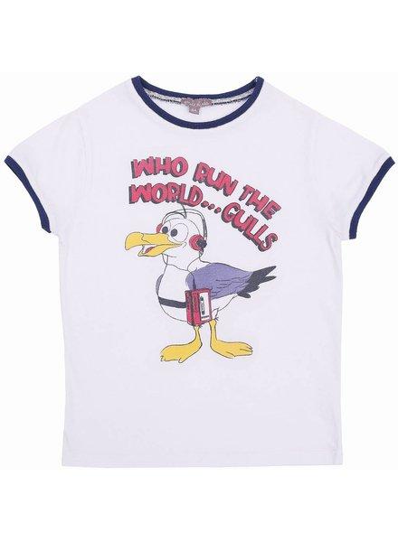 t-shirt - mouette craie