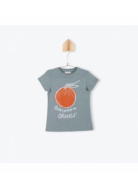 OUTLET // t-shirt bleu comme ... - sauge