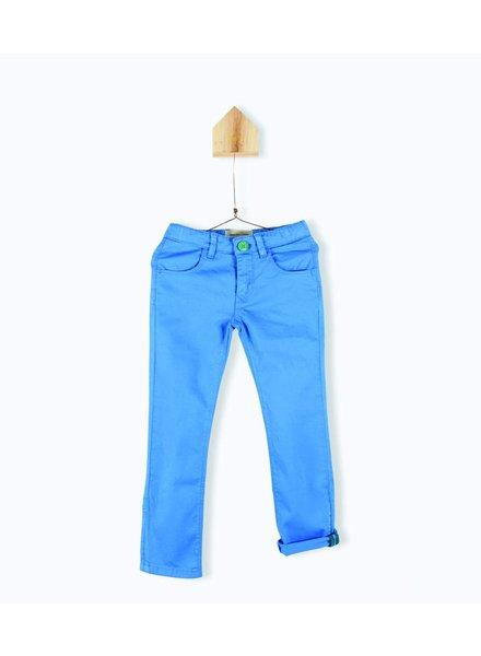 OUTLET // pantalon gabardine - ocean