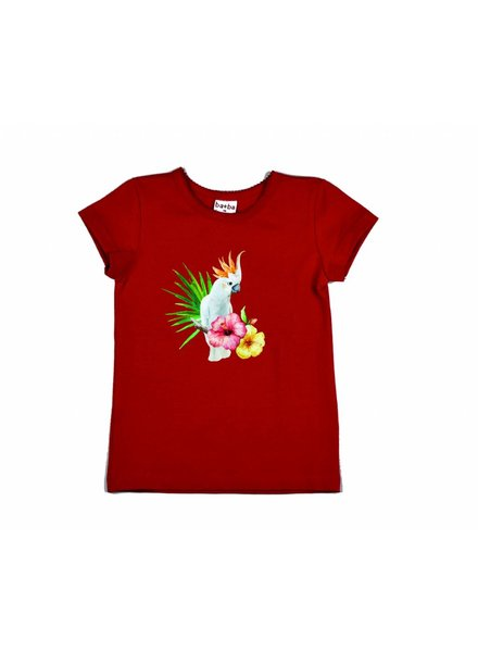 OUTLET // t-shirt cockatoo - red