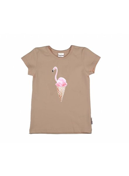 t-shirt flamingo - pink