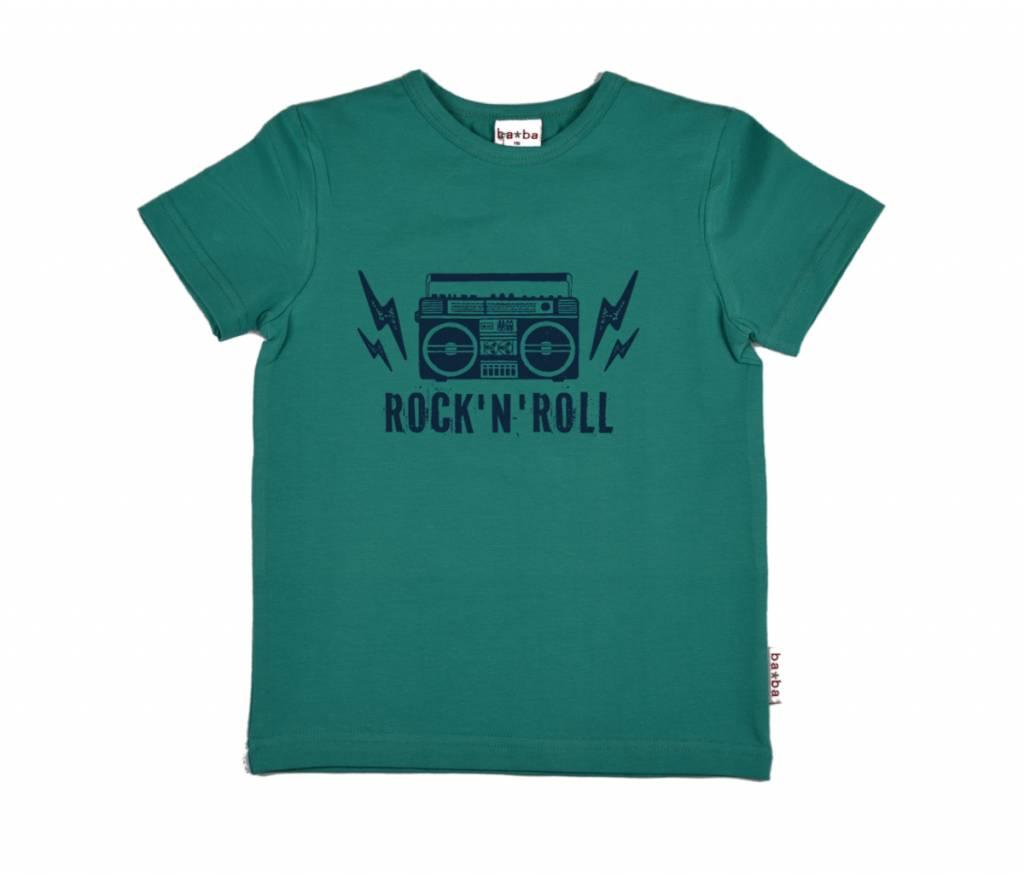 t-shirt rock - green