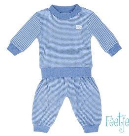 Feetje Feetje Baby Pyjama Blauw Melee