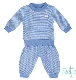 Feetje Kinder Pyjama Blauw Melee