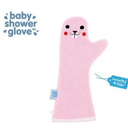 Babyshower Glove Beaver Roze