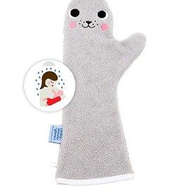 Babyshower Glove Seal Grijs