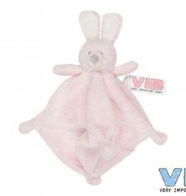 VERY IMPORTANT BABY Knuffeldoekje Konijn Roze